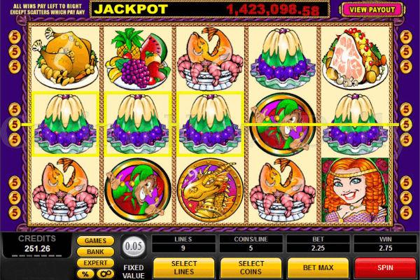 King Cashalot Progressive Jackpot