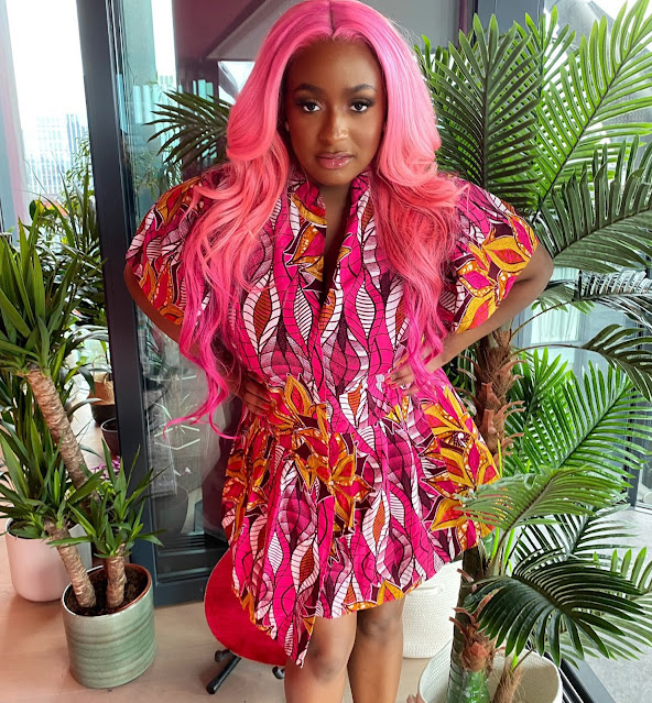 Upon she has all the money in the world, She doesnt know how to dress- DJ Cuppy reacts to a fan who Insulted her she doesnt know to dress