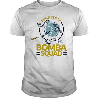 Minnesota Bomba Squad Twins T Shirts Hoodie Sweatshirt tank Tops