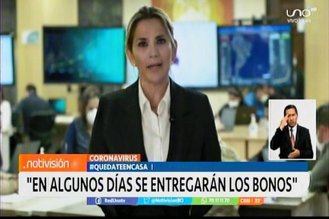 Presidenta Áñez afirma que vienen momentos muy difíciles, pero que Bolivia superará la crisis