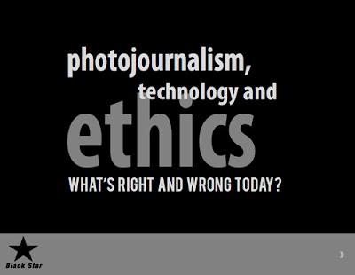 Fotoperiodismo, tecnología y etica.