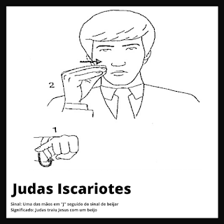 Judas Iscariotes em Libras