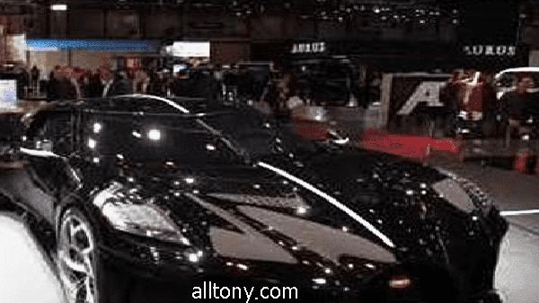 سيارة  كريستيانو رونالدو بوجاتي الجديدة 11 مليون يورو