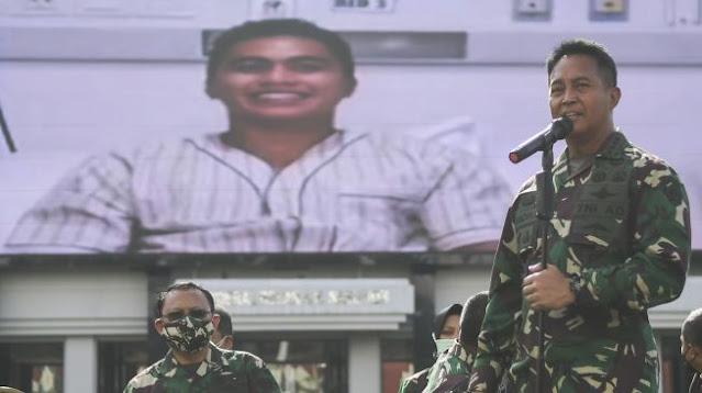TNI AD Bantu Operasi Aprilia Manganang