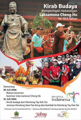 Kirab Budaya Laksamana Cheng Ho ke 611 Tahun - Semarang