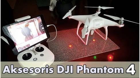 Aksesoris DJI Phantom 4 yang Wajib Dimiliki Pilot