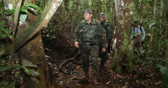 Vice-presidente minimiza queimadas: 'Amazônia brasileira está segura'