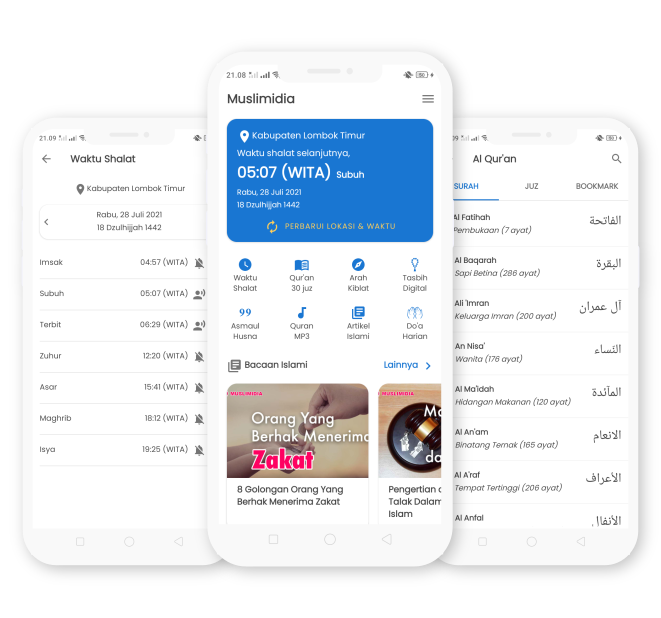 Muslimidia for Android