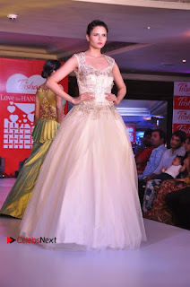 South Indian Celebrities Pos at Love For Handloom Collection Fashion Show  0019.jpg