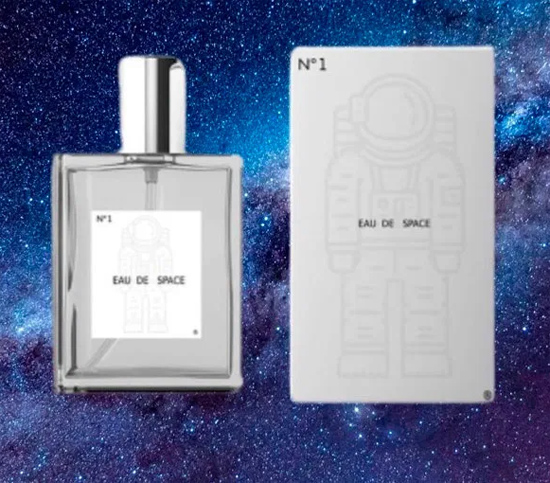Cheiro do Espaço - fragrância da NASA Space Eau dissey