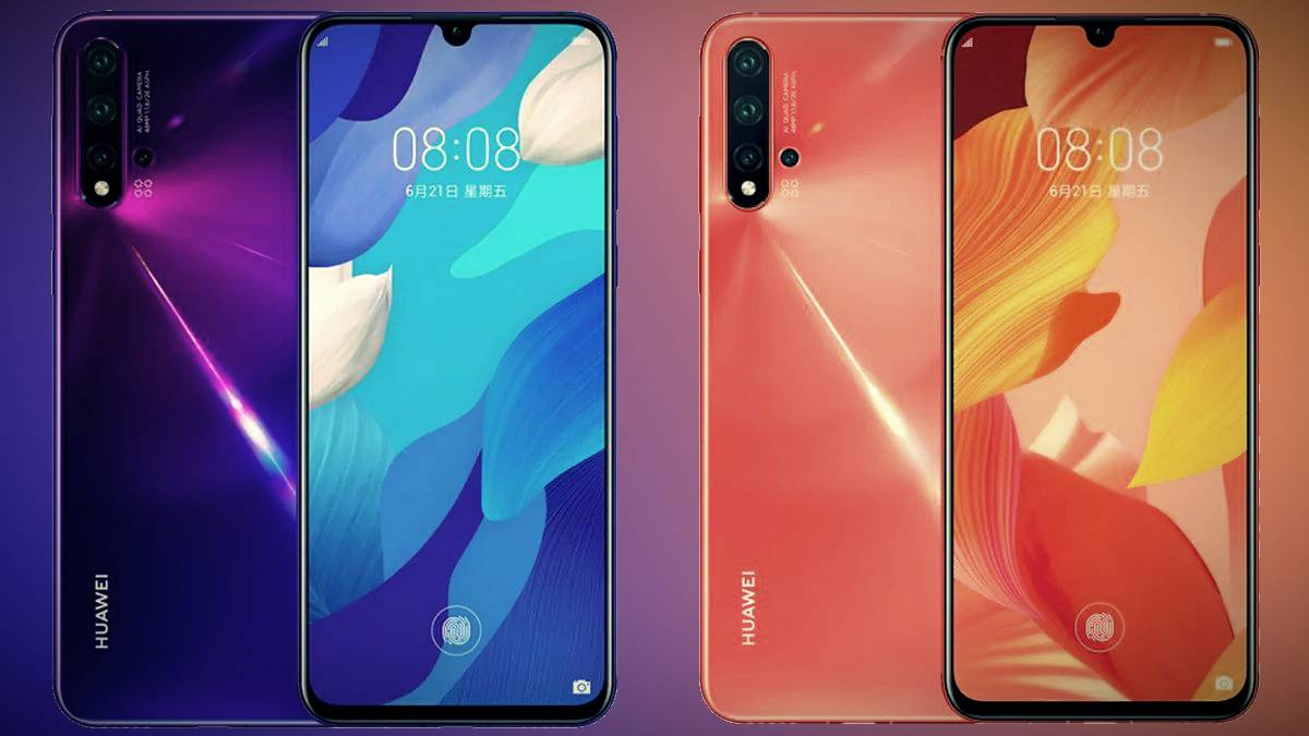 Huawei Nova 5 Pro received the final version of EMUI 10 and EMUI 10