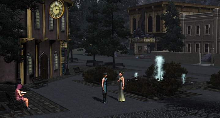The Sims 3 Store Midnight Hollow Gold
