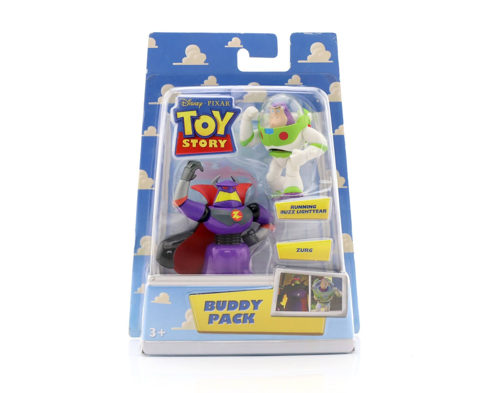toy story buddy pack running buzz lightyear