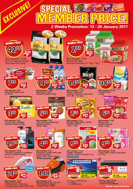 Malaysia AEON BiG Member Card Discount Promo