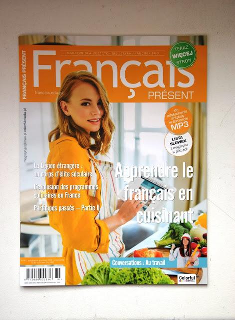 """Français Présent 46/2018"" - okładka czasopisma - Francuski przy kawie"