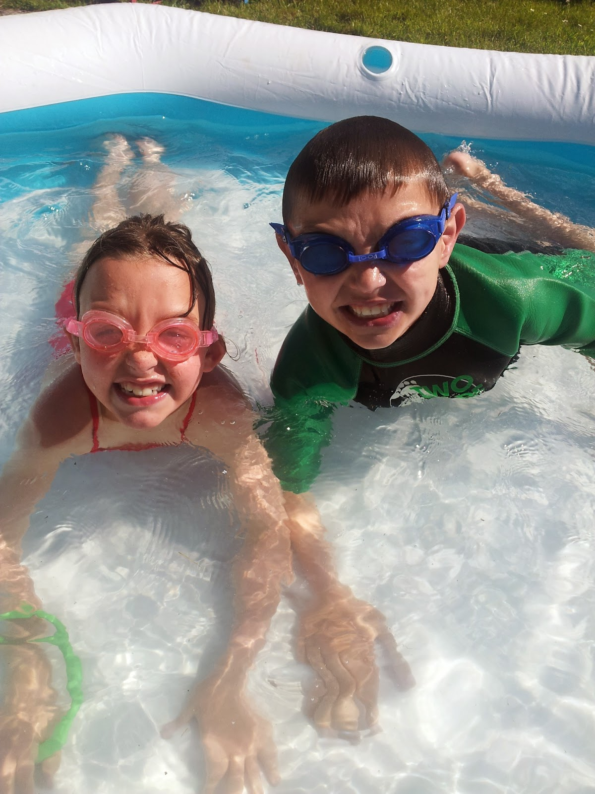 , Mark Warner Active Family Challenge Week 4:  Splash!