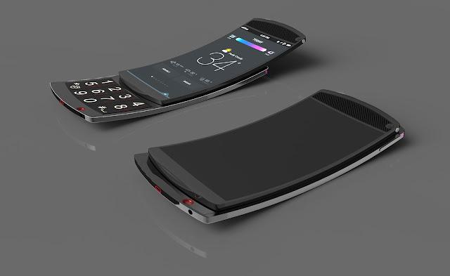 Samsung Flip OLED Smartphone | 2018 | Concept