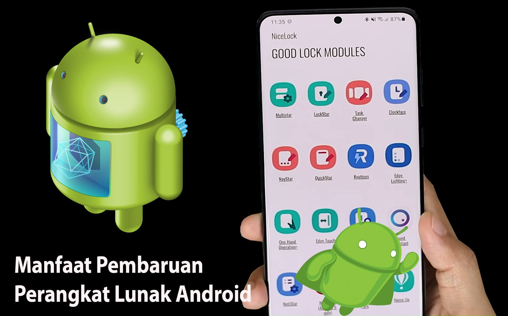 Manfaat Update System Android