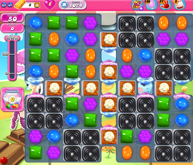 Candy Crush Saga 1074