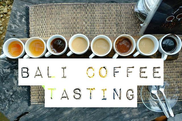 bali coffee tasting in ubud