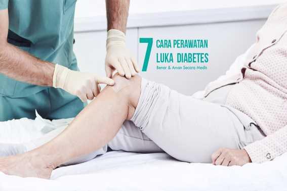 Ketahui Cara Perawatan Luka Diabetes
