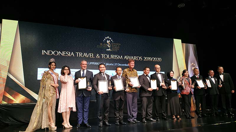 InterContinental Bandung Dago Pakar Terima Pengheargaan ITTA