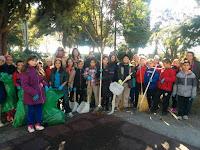 Καθαρισμός πρασίνου σε συνεργασία με την Αντηρίδα