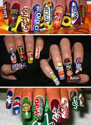 soda nail designs