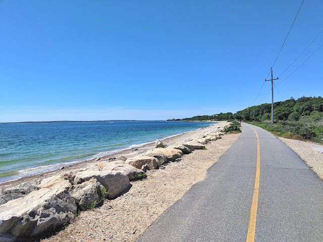 Shining Sea Bike Path Falmouth Cape Cod