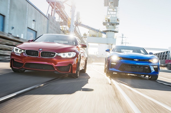 BMW M4 vs Chevrolet Camaro SS