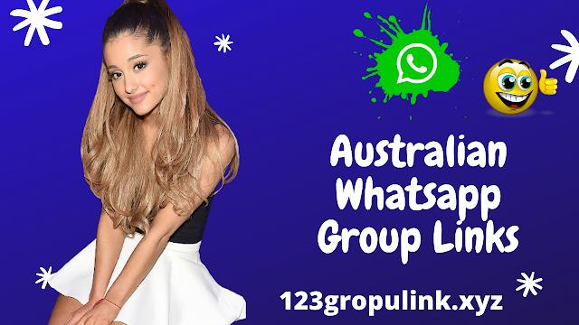 Join 501+ Australian Whatsapp group link
