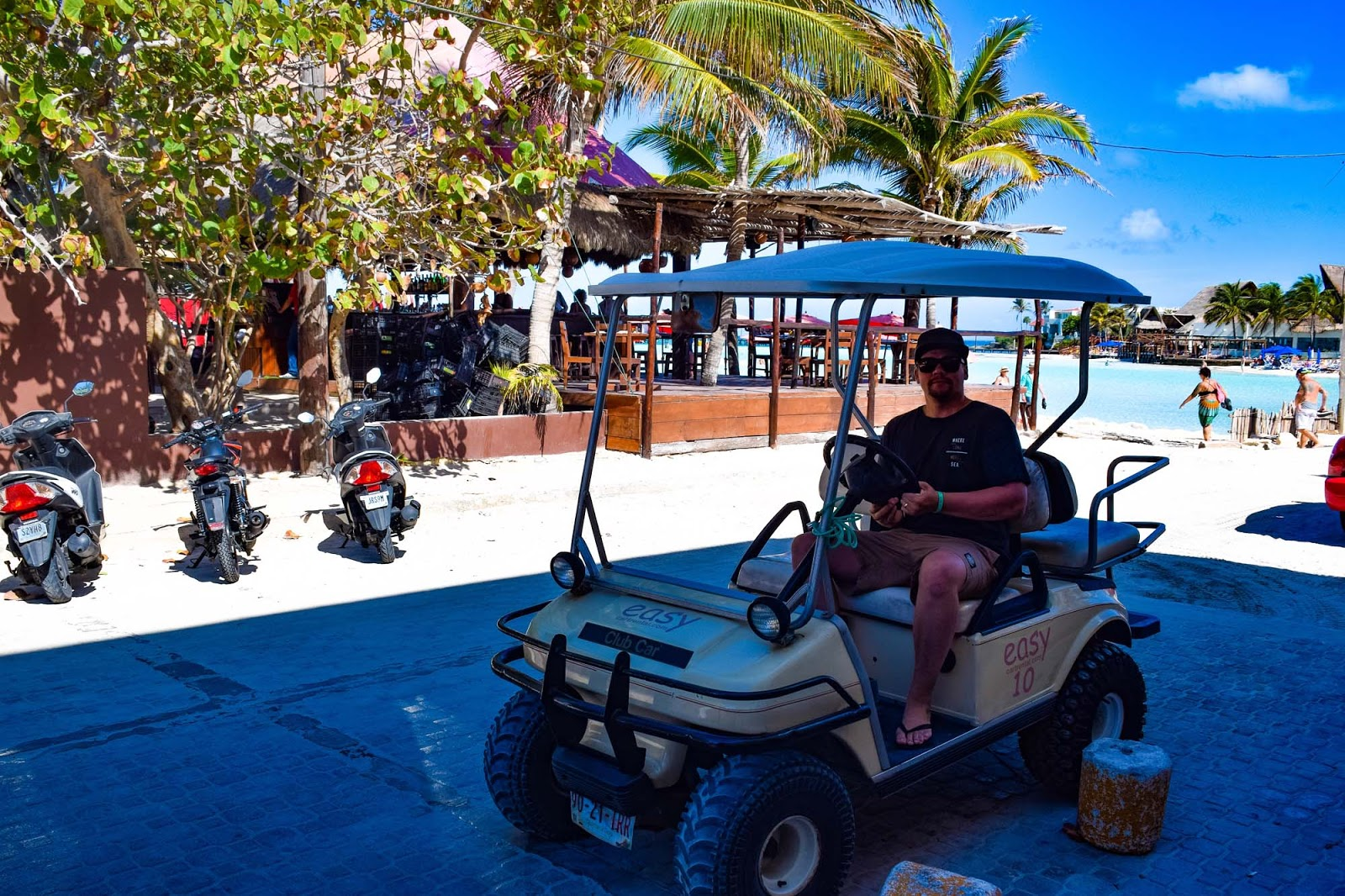 isla mujeres golf cart rental