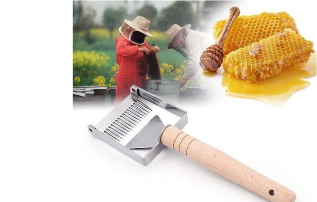 H  έξυπνη πιρούνα για ερασιτέχνες μελισσοκόμους υπάρχει στην Ελλάδα από την Αρκαδική Μελισσοκομία