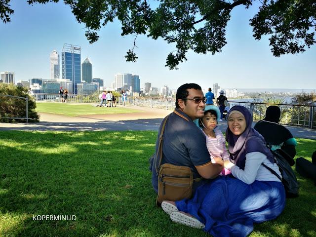 Mount Eliza spot terbaik melihat kota Perth dari Kings Park