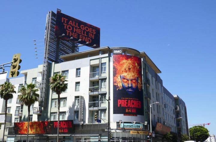 Preacher final season 4 billboards