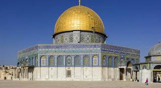 Domul Stâncii de pe Muntele Templului din Ierusalim - foto de Andrew Shiva - Wikipedia