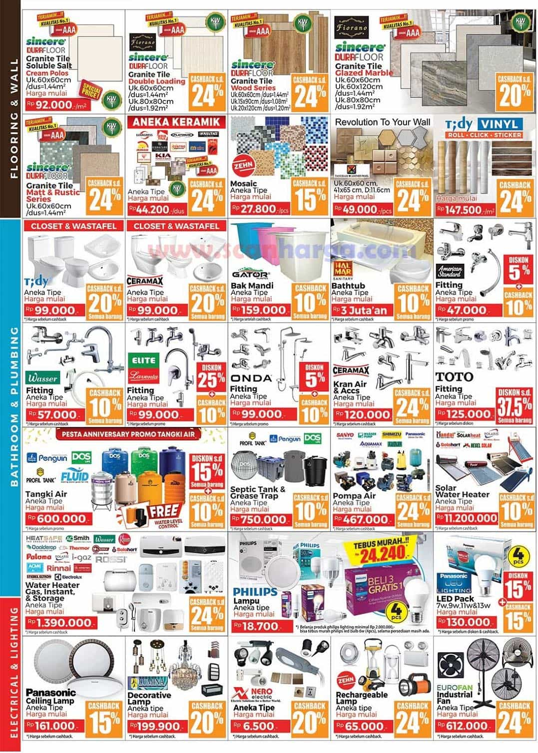 Katalog Promo MITRA 10 Terbaru 1 Maret - 4 April 2021 2