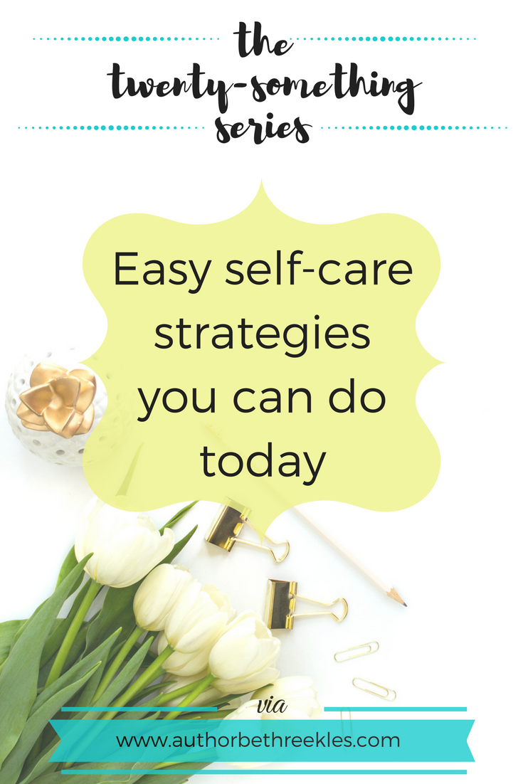 Life is stressful, and self-care is important. In this post, I share a few strategies for self-care you can do today.