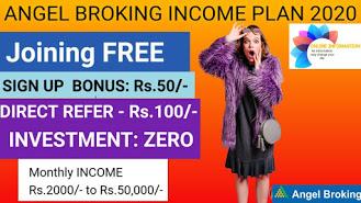Angel Broking Demat Account Income Plan