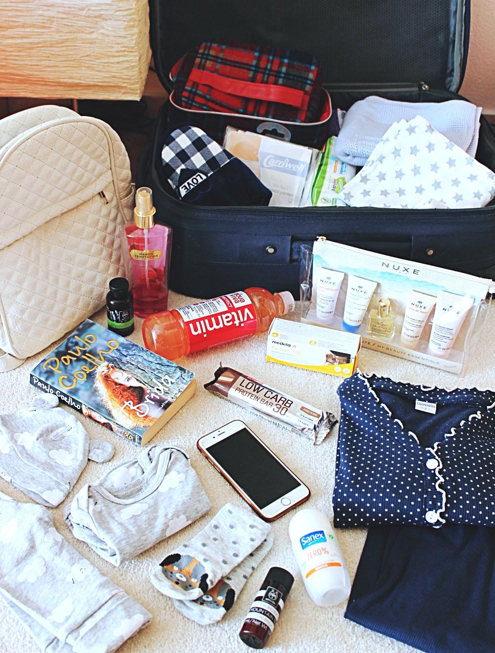 sta treba spakovati u torbu za porodiliste za mamu i dete, trudnicki saveti za porodjaj