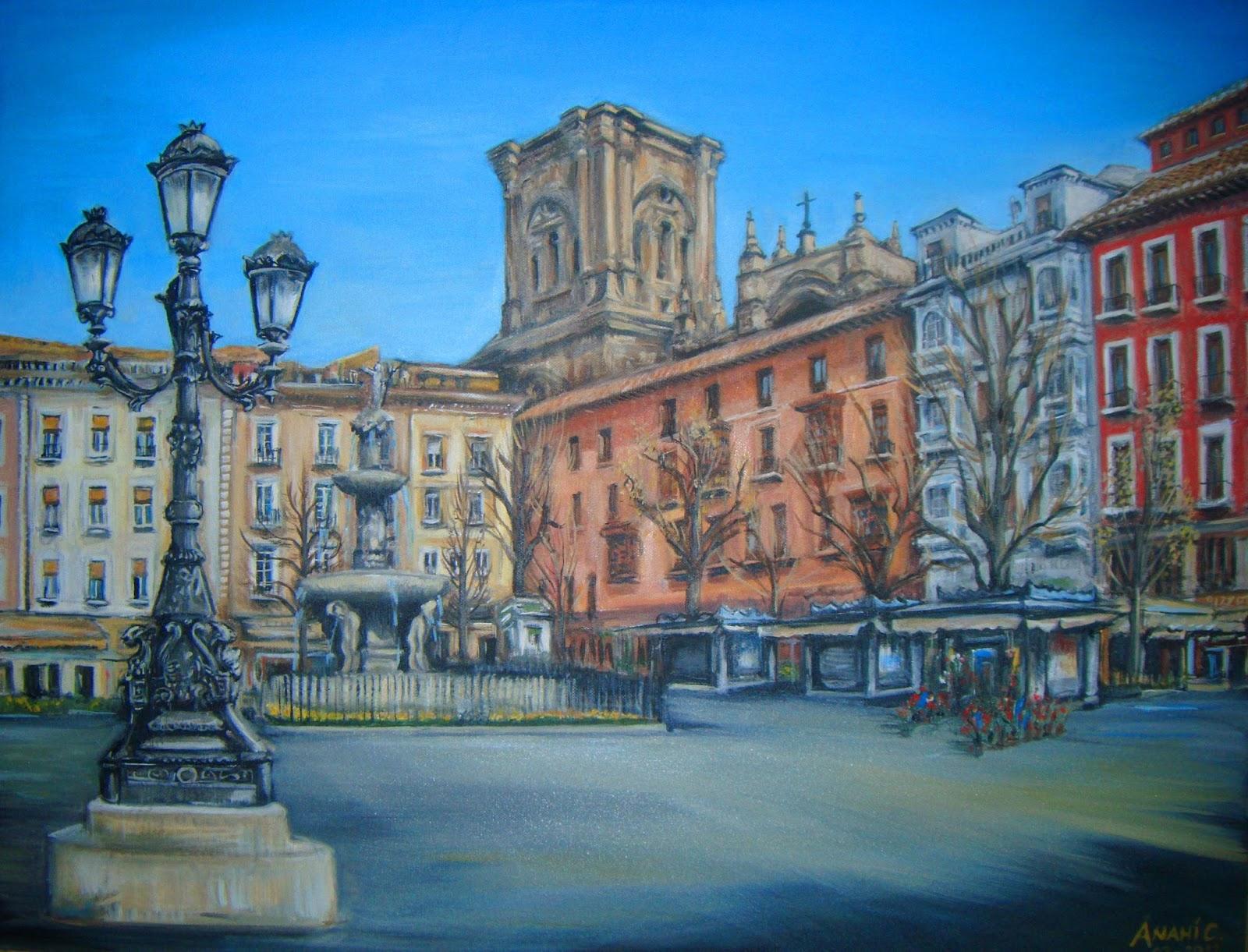En Granada Plaza Bip Rambla   TALLER DE PINTURA AL AIRE LIBRE