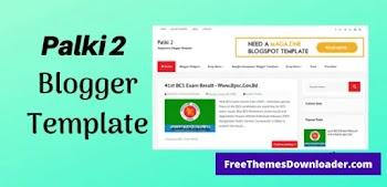 [Free Download] Palki 2 Clean Blogger Template Premium