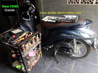 Cara pasang alarm motor New Fino Grande 125