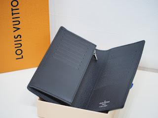 ヴィトンの紳士用2つ折り長財布を買い取り致しました 税抜き定価79,000円