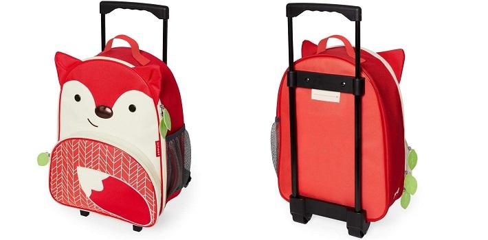 Skip Hop Zoo Rolling Luggage from Kiddies Kingdom