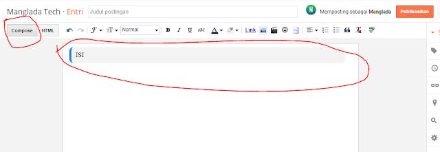 cara Kotak Script Di Dalam Postingan