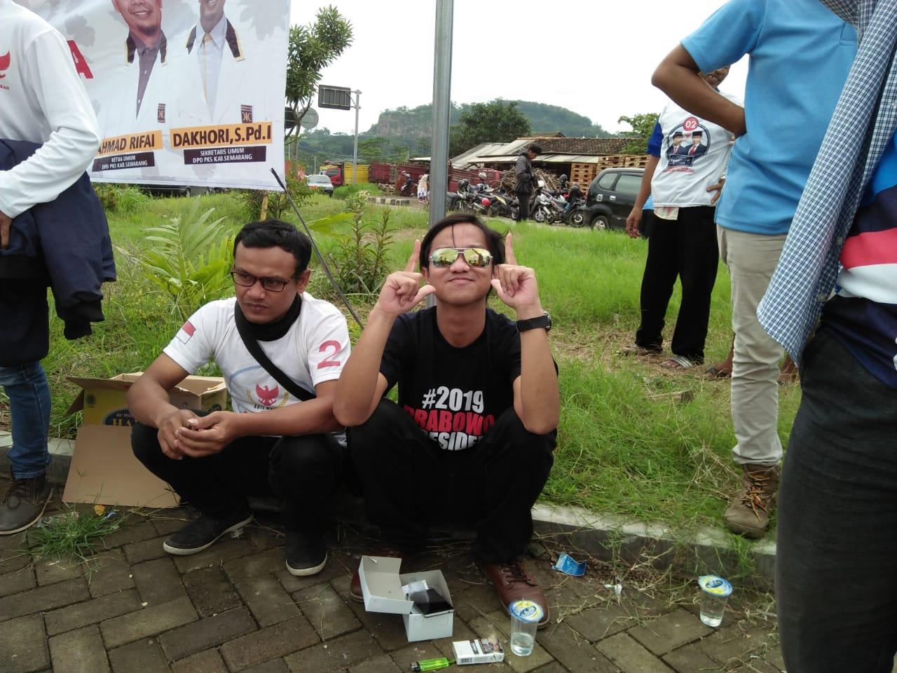 Relung Padi (Relawan Ungaran Prabowo Sandi) Kabupaten Semarang