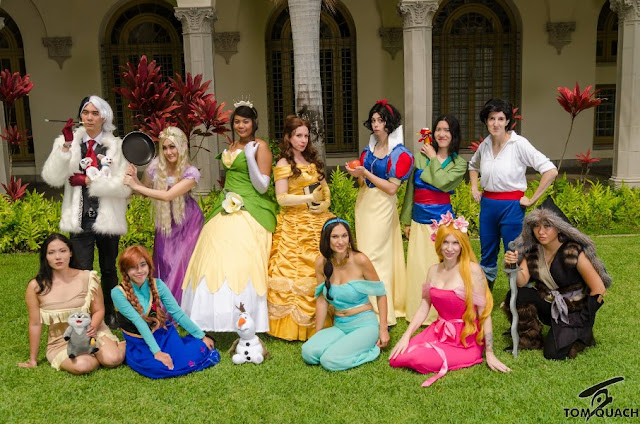 Disney Group Cosplay (image credit: Tom Quach, February)