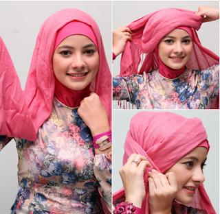 Tampil hijab cantik saat ke kantor
