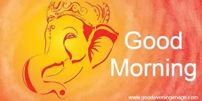 Good Morning Images ganesha